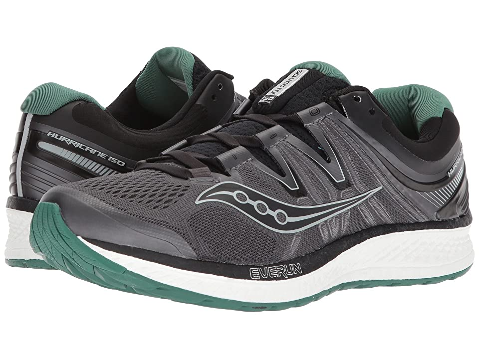 Saucony Hurricane ISO 4 (Black/Grey/Green) Men