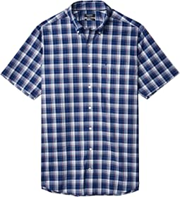 Big & Tall Casual Woven Plaid Shirt