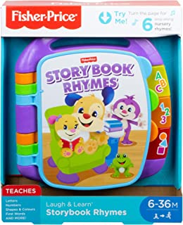 Fisher-Price Laugh & Learn Storybook Rhymes Book - UK English Edition CDH26