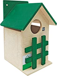 PetNest Squirrel, Hamsters House and Medium Size Bird House Size 6.5 X 6.5 X 9.5 inch