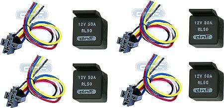 DNF (4 Pair) 50 AMP Relay Harness (Long) SPDT 12V Bosch Style