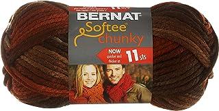 Softee Chunky Ombre Yarn, 70ml, Gauge 5 Bulky Chunky, 100% Acrylic, Terra Cotta Mist