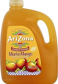 AriZona Mucho Mango Fruit Juice Cocktail 128 Oz (Pack of 4)