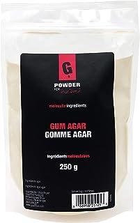 PowderForTexture Premium Agar Agar Powder for Baking and Cooking, 250g (8.8oz) | Vegan/Vegetarian Substitute for Gelatin, ...