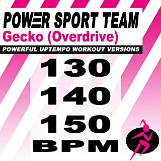 Gecko (Overdrive) [Powerful Uptempo Cardio, Fitness, Crossfit & Aerobics Workout Versions]