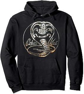 cefecfc3b68 Cobra Kai Rusted Steel Snake Logo Pullover Hoodie