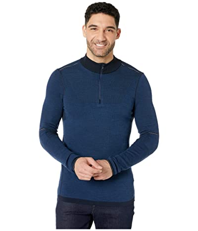 Smartwool Intraknit Merino 250 Thermal 1/4 Zip (Cobalt) Men