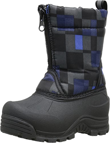 Northside Icicle Cold Weather Unisex démarrage (Toddler Little Kid Big Kid), noir Royal, 2 M US Little Kid