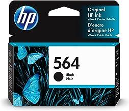 HP 564 | Ink Cartridge | Black | Works with HP DeskJet 3500 Series, HP OfficeJet 4600 5500 C6300 6500 7500 Series, B8550, ...
