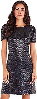 فستان بكم منتفخ معدني للنساء من Mela London ZOEY