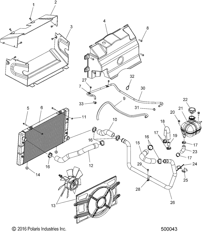 Polaris Engine Max 86% OFF Outlet Hose Genuine 1 Part 5416270 Qty OEM Elegant
