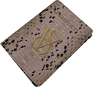 Passport Holder Vs Logo of Passport Suit (Snake Print)