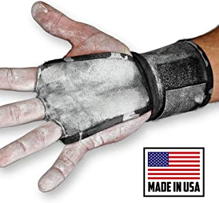 JerkFit WODies Full Palm Protection to Reduce Hand Tearing While Adding Crucial Wrist Support for Weightlifting, Workouts WODs, Cross Training, Fitness and Calisthenics. (Pair)