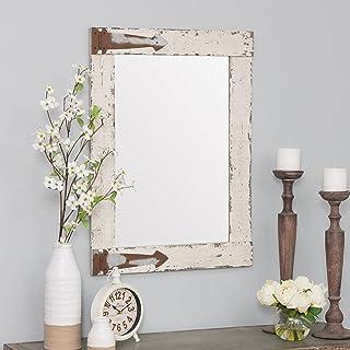 Amazon Com Rustic Bathroom Mirror