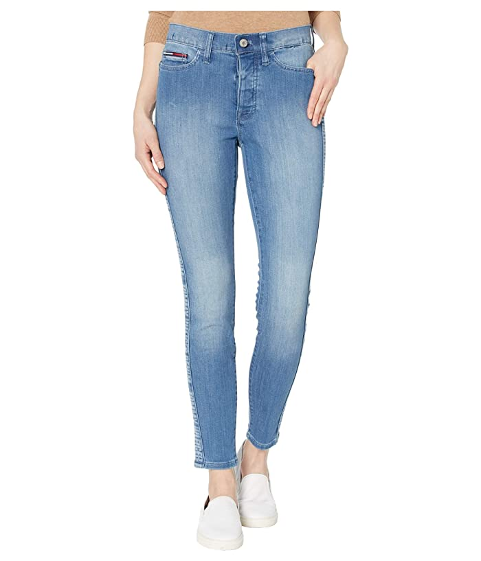 Tommy Hilfiger Adaptive  Signature Curve Legging (Light Wash/Multi) Womens Jeans