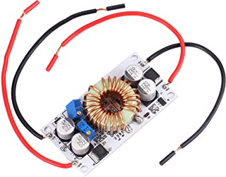 SongHe 250W DC Booster Constant Voltage Constant Current Power Converter Module DC-DC 10-40V to 10-50V 6A Adjustable Step-...