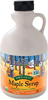 Coombs Family Farms Maple Syrup, Organic Grade A, Amber Color, Rich Taste, 32 Fl Oz