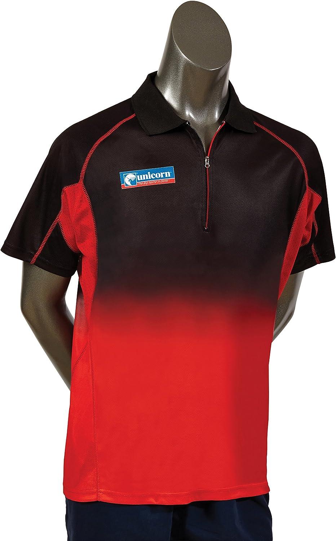 MEDIUM Quality inspection UNICORN PRO DART BLACK Max 43% OFF SHIRT RED
