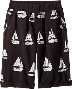 Sailboat Shorts (Toddler/Little Kids/Big Kids)