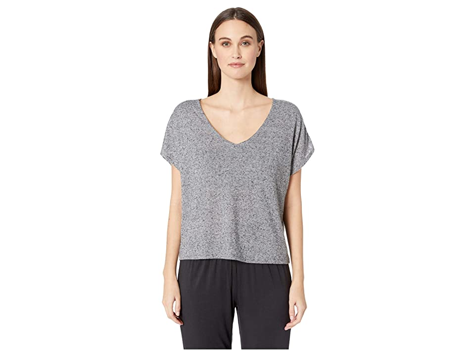 Eberjey Bobby The Camp Top (Heathered Grey) Women