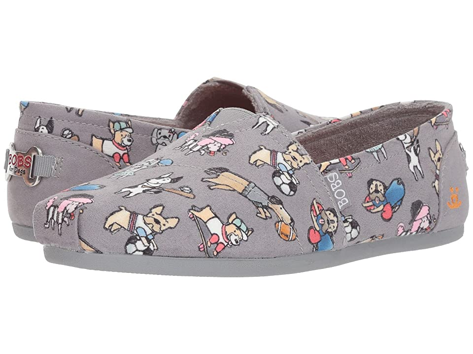 BOBS from SKECHERS BOBS Plush Go Fetch (Gray) Women