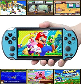 Handheld Game Console, Built-in Free 10000 Games 8GB 4.3'' TFT Screen Media Player..
