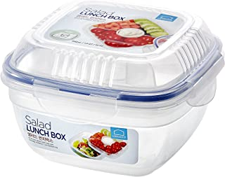 LOCK&LOCK HSM8440T Lock & Lock 32-Oz. Food Plastic Storage Container, 32 Ounce, Clear