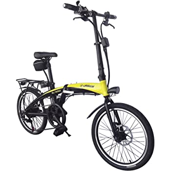 Helliot Bikes by Helliot 01 Bicicleta Eléctrica Plegable, Adultos ...