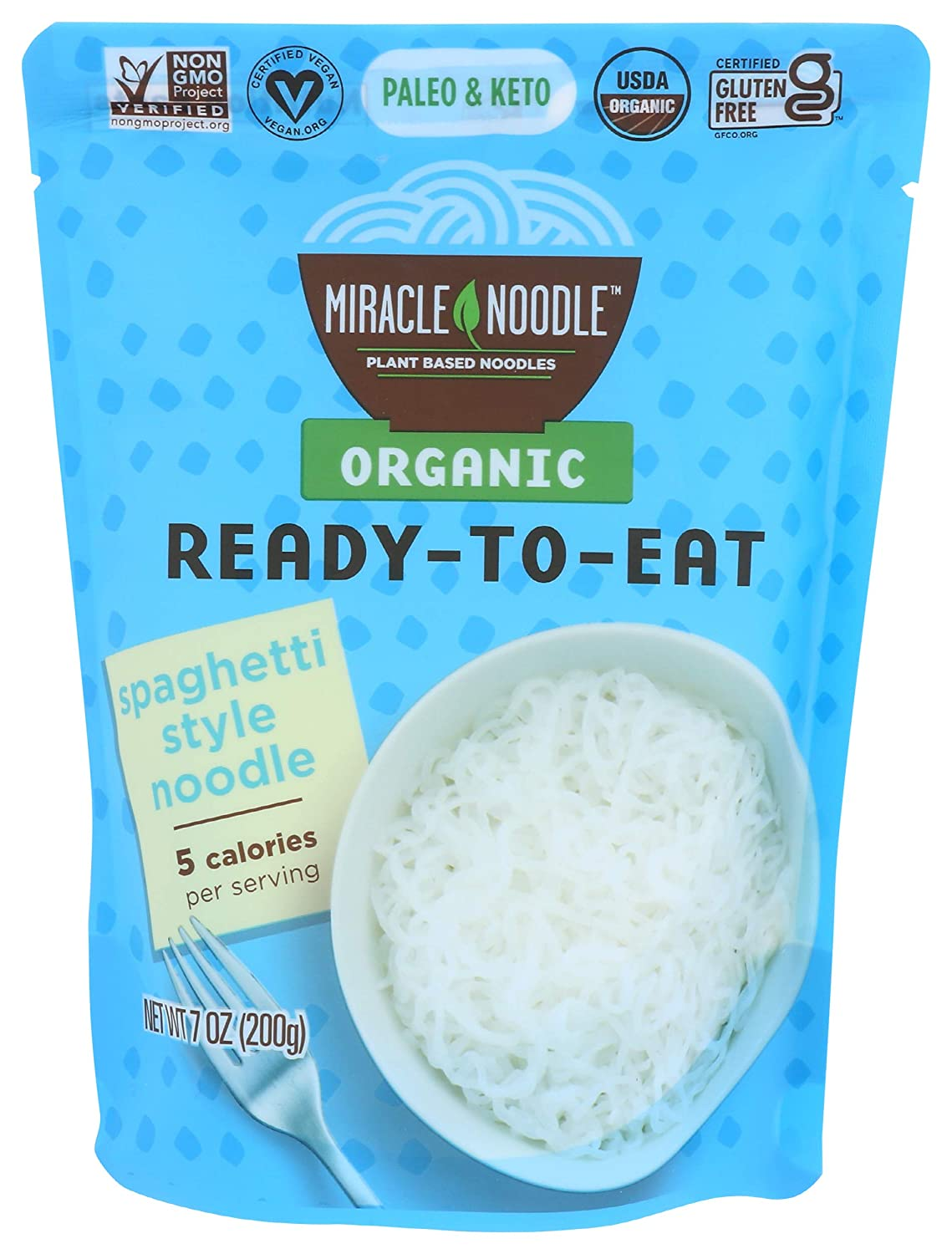 National products Miracle Noodle Max 54% OFF Ready Spaghetti Style 7 Ounce