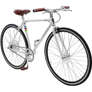 Bibóo Bikes Gekko Bicicleta Eléctrica, Unisex Adulto, Blanco, 52 (M-L): Amazon.es: Deportes y aire libre
