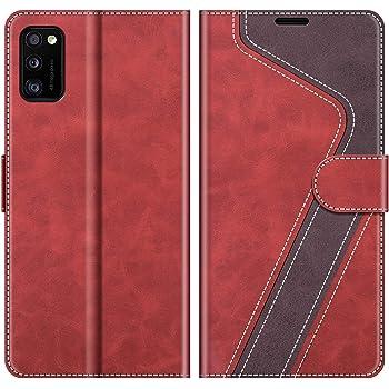 Kompatibel mit Samsung Galaxy A41 Schutzh/ülle Handytasche Handy-H/üllen Flip-Case Schwarz elephones Handyh/ülle f/ür Samsung Galaxy A41 H/ülle PU Leder