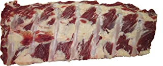 Bison Back Ribs, Each Rack Contains 7 Ribs – 4 - Racks (2.5 lbs. Each) Made with North American Buffalo.