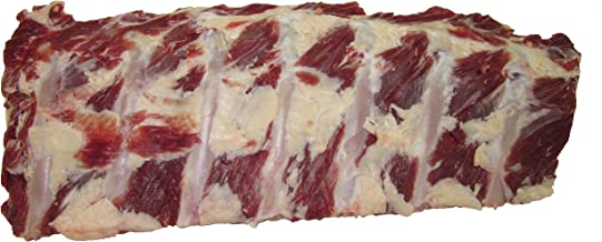 Bison Back Ribs, Each Rack Contains 7 Ribs – 2 - Racks (2.5 lbs. each average) Made with North American Buffalo.
