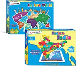 PLAYAUTOMA Explore World (6-99) and Explore India (5-99) with Augmented Reality