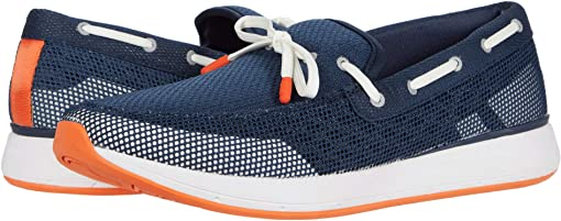 Navy/White/Orange