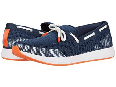 SWIMS Breeze Wave Lace (Navy/White/Orange) Men