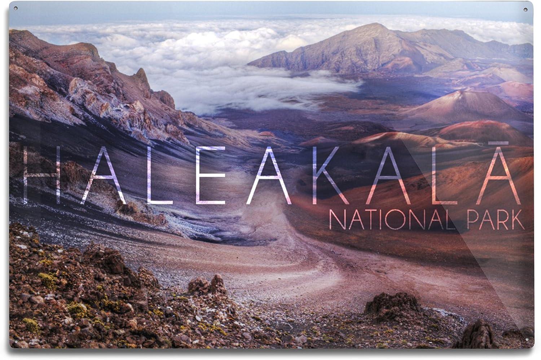 Beauty products Lantern Press Haleakala National Park Hawaii Aluminum Wa 12x18 Bargain sale