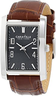 Caravelle New York Men's 43A119 Analog Display Japanese Quartz Brown Watch