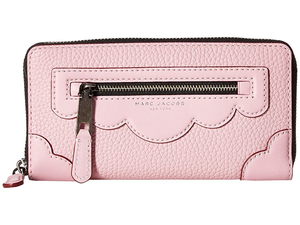 モールス信号雄大な社交的[マークジェイコブス] Marc Jacobs レディース Haze Standard Continental Wallet ウォレット Pink Fleur [並行輸入品]