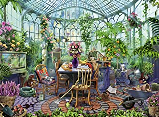 Ravensburger Greenhouse Morning 500 Piece Puzzle for Adults - Every Piece is Unique, Softclick Technology Means Pieces Fit Together Perfectly