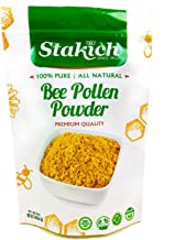 Stakich Bee Pollen Powder - 1 Pound (16 Ounce) - Pure, Natural