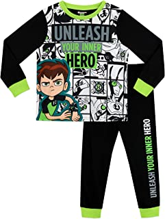 Ben 10 Boys' Aliens Pajamas