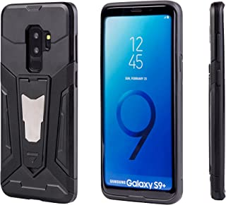 Samsung Galaxy S9 Plus Case,EXTREE [Magnetic Car Mount][Shockproof] [Kickstand] Bumper Case for Samsung Galaxy S9 Plus (black)