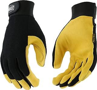 West Chester IRONCAT 86400 Premium Grain Deerskin Leather Palm Work Gloves: X-Large, 1 Pair
