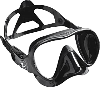Aqua Lung Linea Single Lens Dive Mask (All Black)