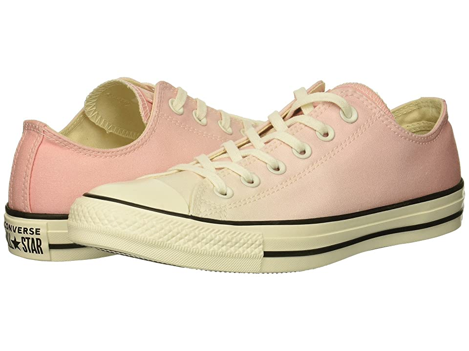 9922243f0f9a Converse Chuck Taylor All Star Ombre Wash Ox (Storm Pink Egret Egret)  Women s Lace up casual Shoes