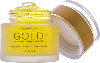 24K Gold Foil Anti Aging Moisturizer Cream Packed with Age Defying Retinol, Vitamin C, Amino Acids and More for Face, Eyes and Neck 1.6 ounce (50 grams)