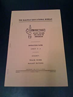 Instruction Paper T 2 Track Work Ballast Sections