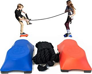 Just Jump It Hoosker Doosker Tug of War - The Game of Balance and Skill