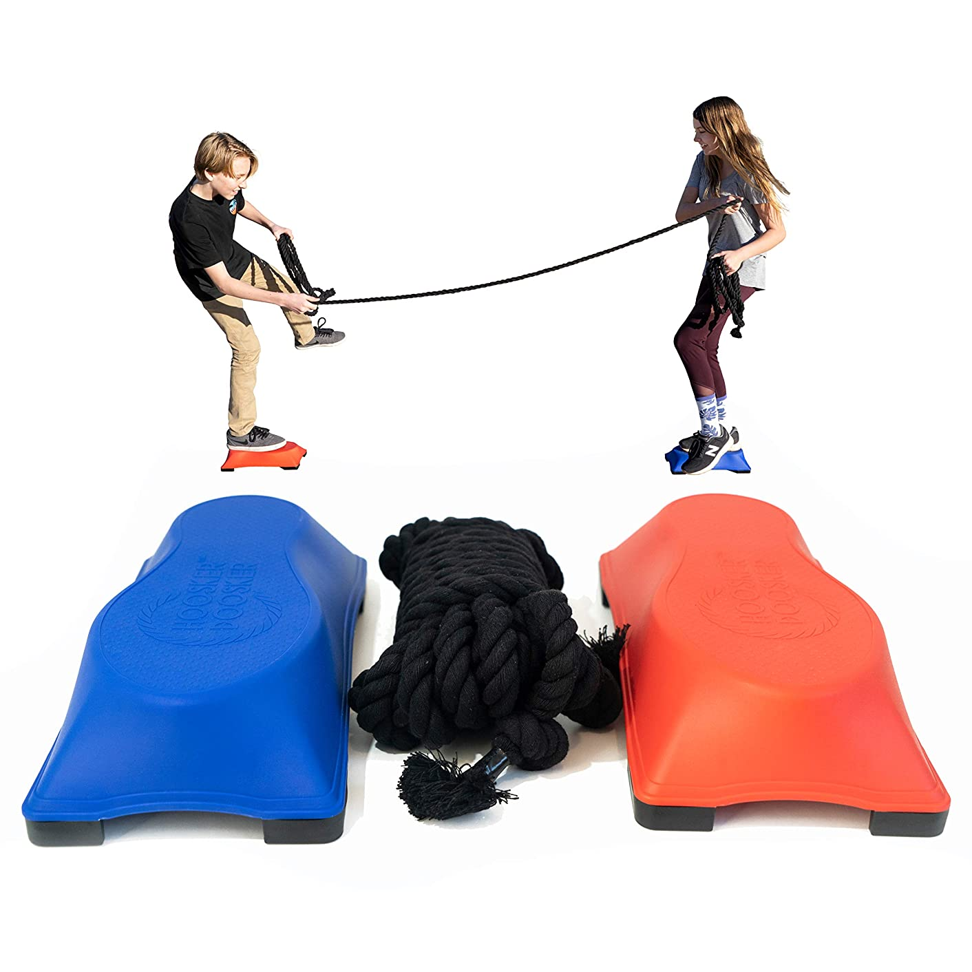 Just Jump It Hoosker Doosker Tug of War - The Game of Balance and Skill